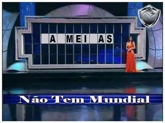 Palmeiras não tem mundial - meme