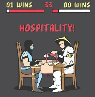 hospitality - meme