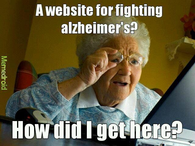 Grandma likes interneting - meme