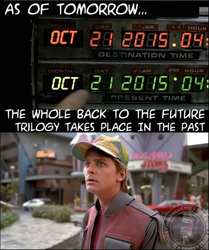 Back to the future/past - meme