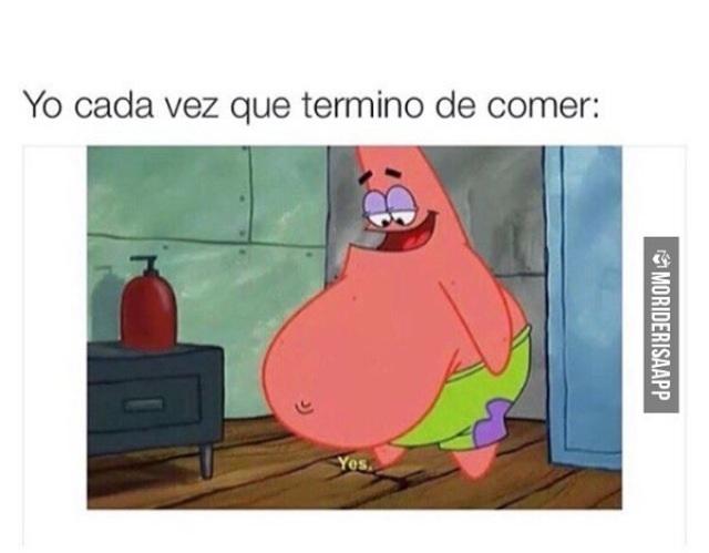 Después de comer atún boliviano - meme