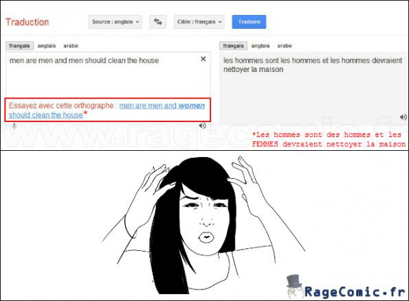 Google Traduction est ton ami - meme