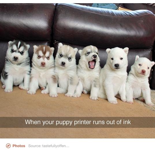 Damn printers - meme