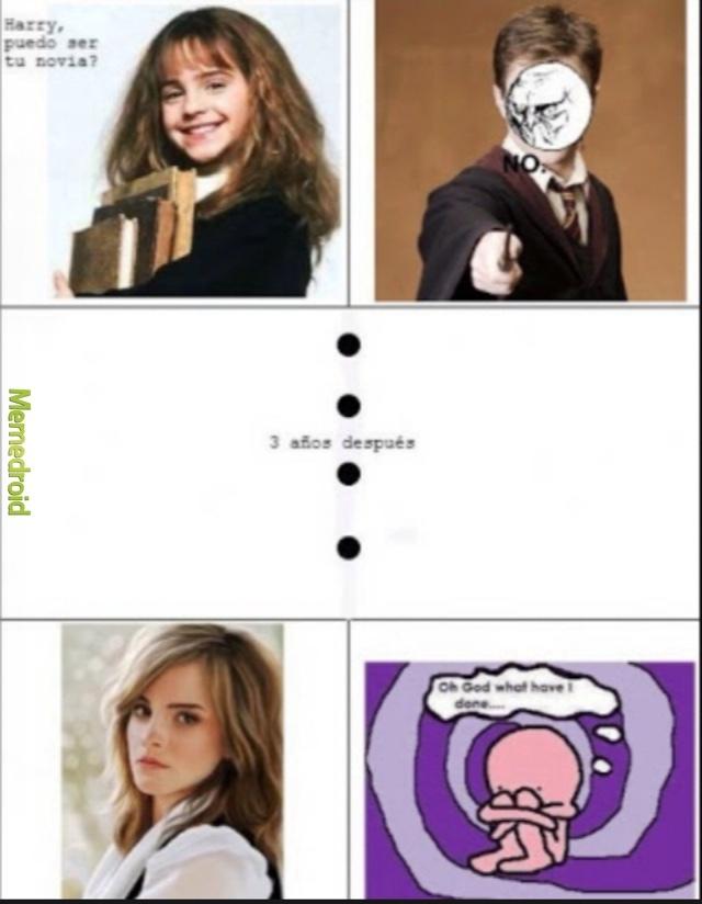 Den like los que amen a Emma Watson  - meme