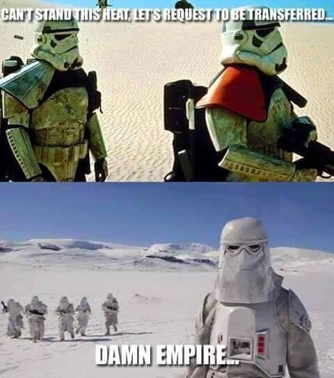 damn empire - meme
