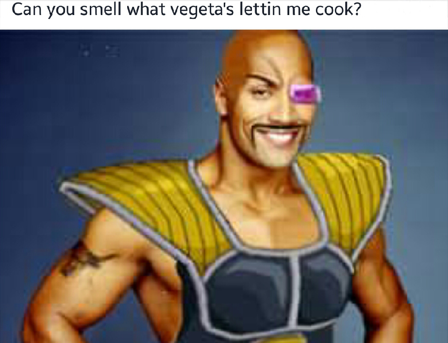 Can you smell what the rock is cookin'? - meme