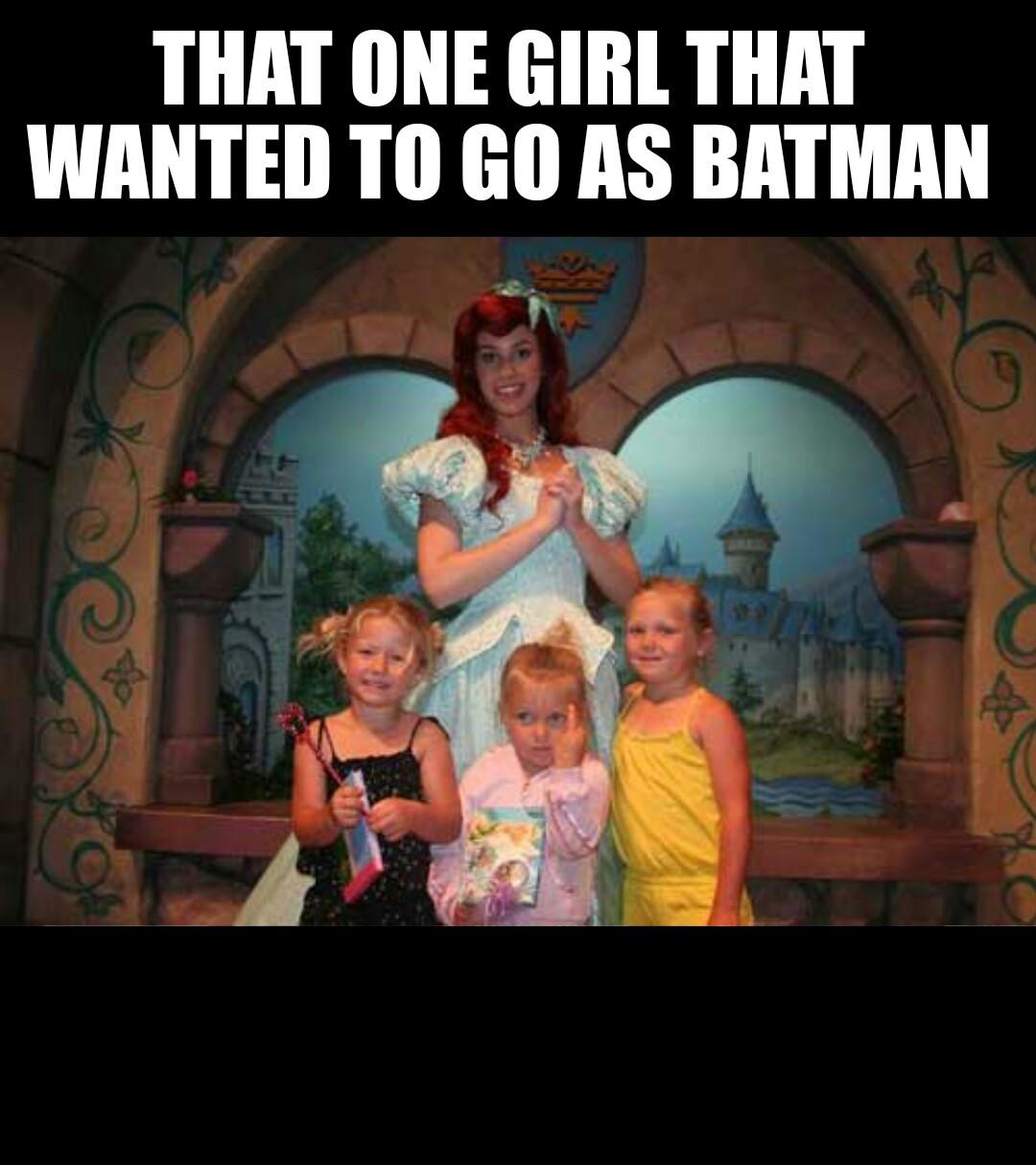 I dont wanna be a princess! - meme
