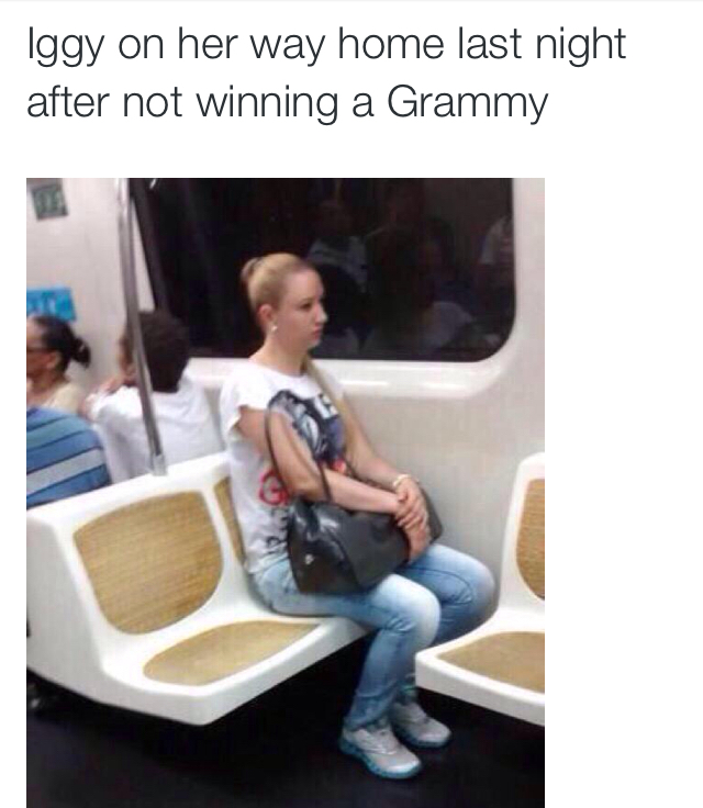 I don't watch the Grammys!! - meme