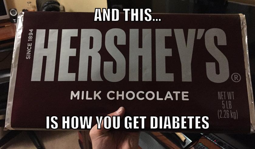 5 pound chocolate bar - meme