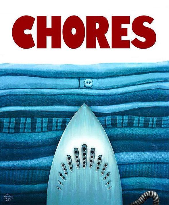 Chores. lol. - meme