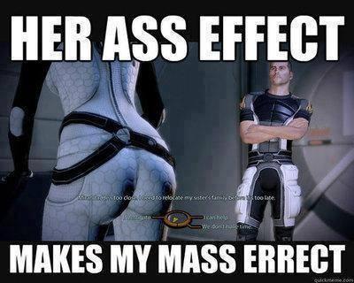 Ass effect - meme