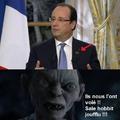 François hollande revient du mordor