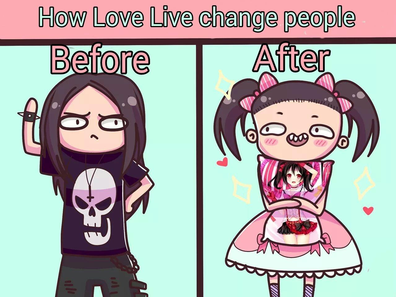 Love Live - meme