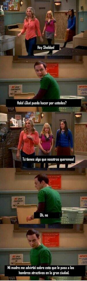 Ese Sheldon es un lokillo - meme