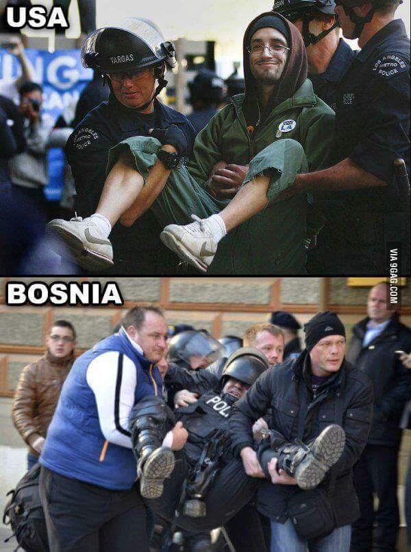 Dont fuck with bosnians - meme