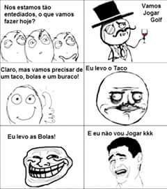 Golf kkk - meme