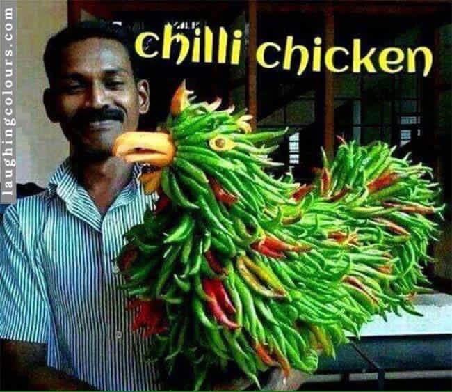 Such Chinese cusine.... much fun - meme