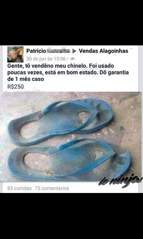 chinelo - meme