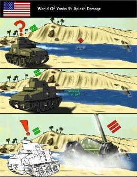 il etais une fois sur world of tanks  2 - meme