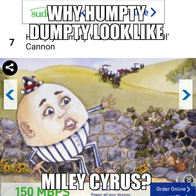 Humpty Dumpty - meme