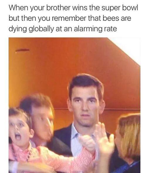 Eli thinking ahead - meme