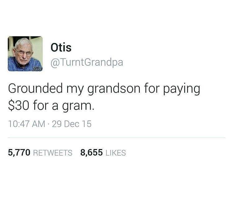 Oh Gramps - meme