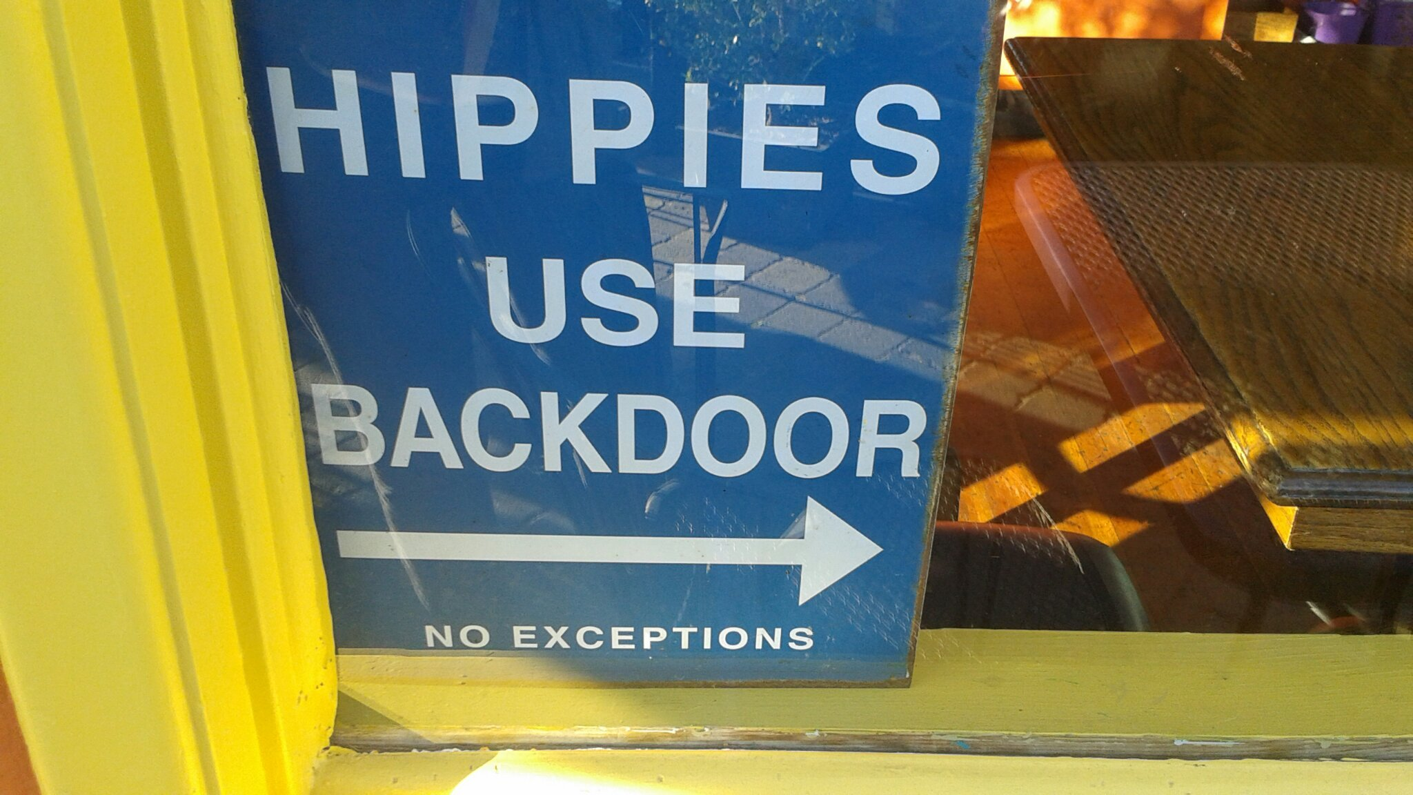 Damn hippies! - meme
