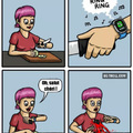 La logique de l'Apple watch