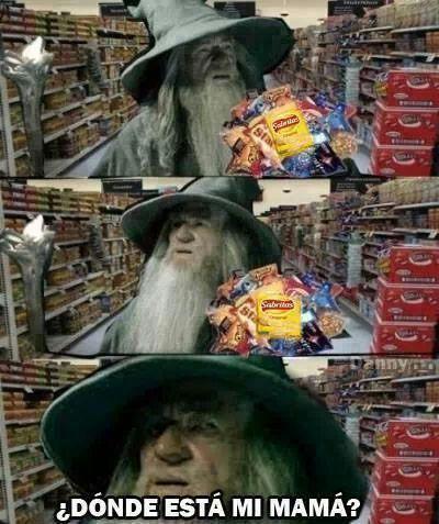 Cada vez que vas a un supermercado - meme