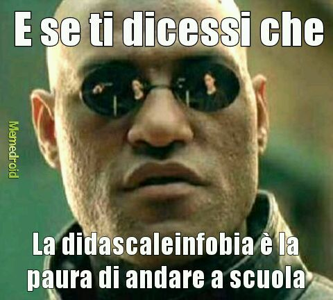 Didascaleinfobia - meme