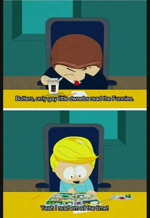 Oh butters... - meme