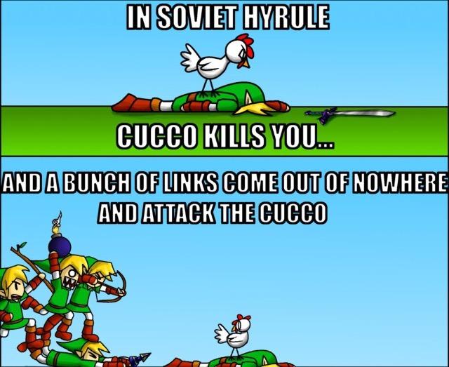 Soviet Russia/Hyrule - meme