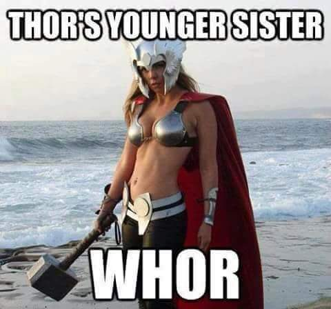 The mighty whor! - meme