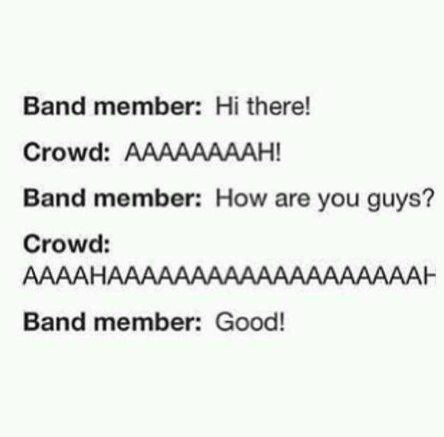 Every concert - meme