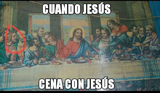 Jesús eres tu?? - meme