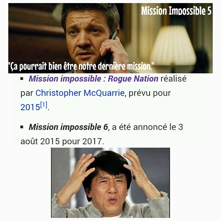 Mission Impossible... fait maison ! - meme