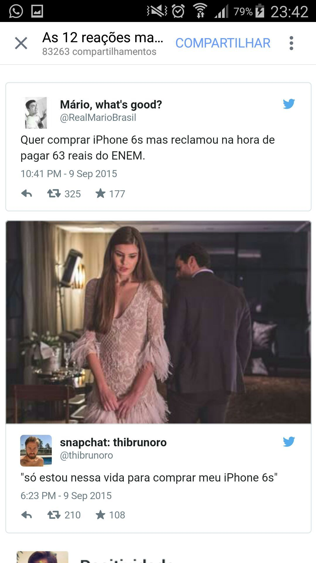 iPhone lixo - meme