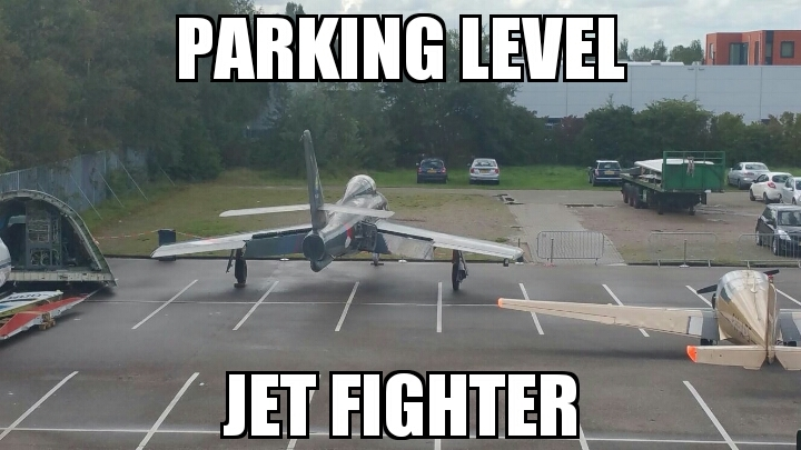 Just parking - meme