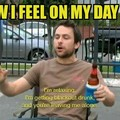 How I feel on my day off
