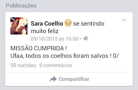 Sara Coelho conseguiu! - meme