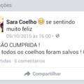 Sara Coelho conseguiu!