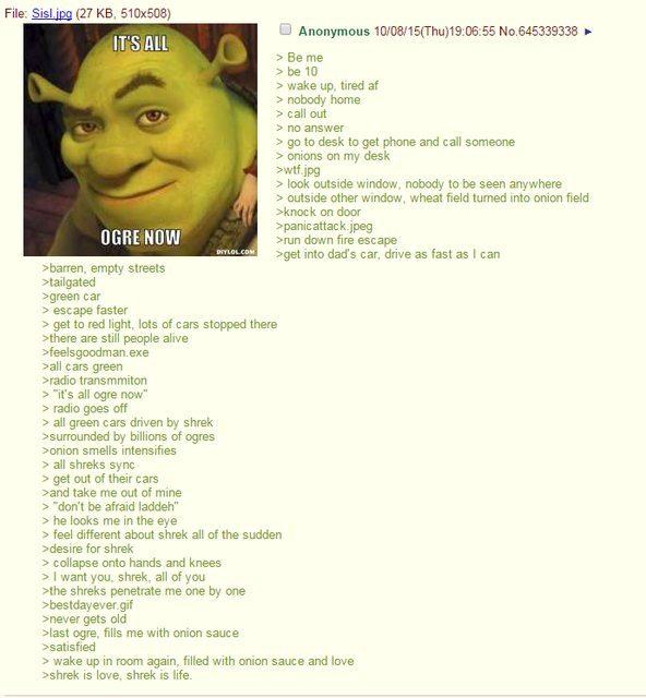 Its never oger - meme
