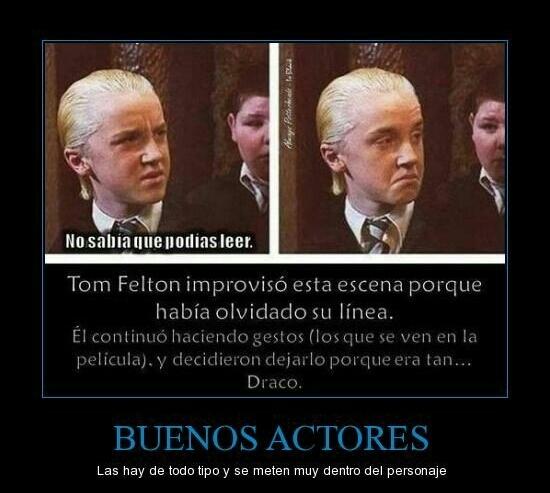 Buenos Actores - meme