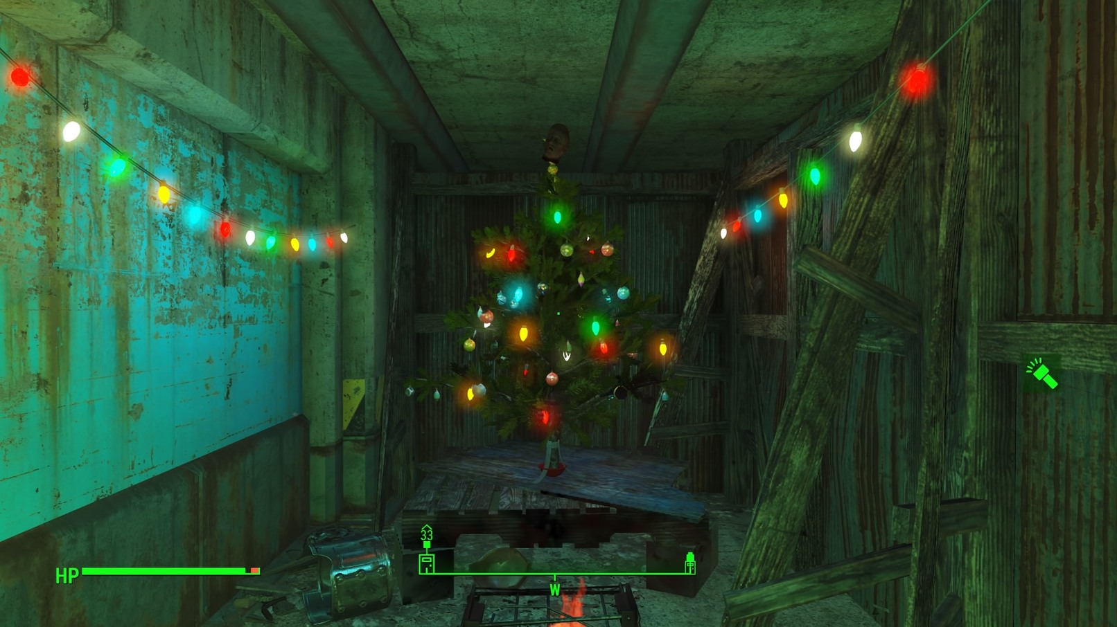 Fallout 4 wishing us a Merry Christmas - meme