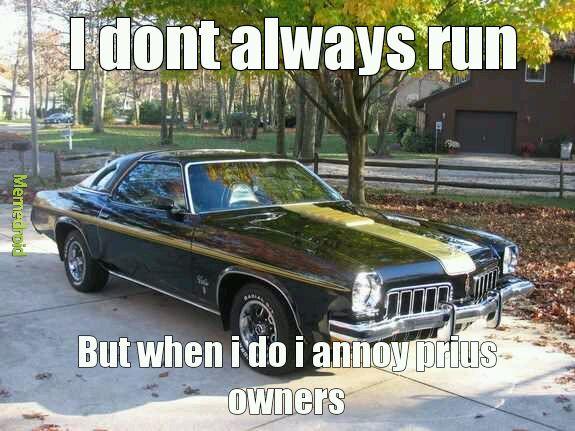 Muscle cars - meme