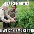 Rick loves the dank kush