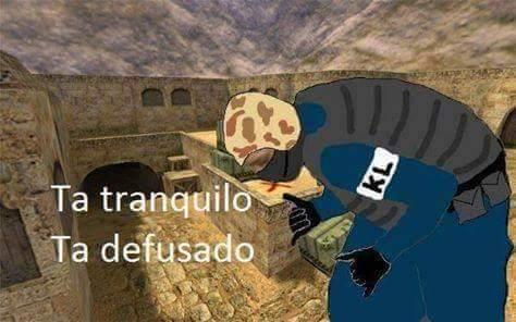 Ta Defusado - meme