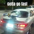 Gotta go fast car