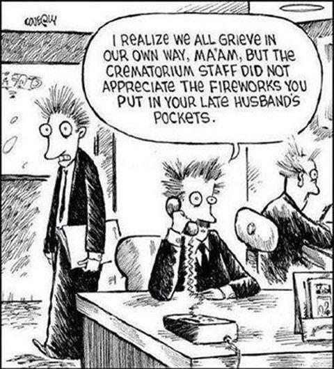 Any fun crematorium jokes? - meme