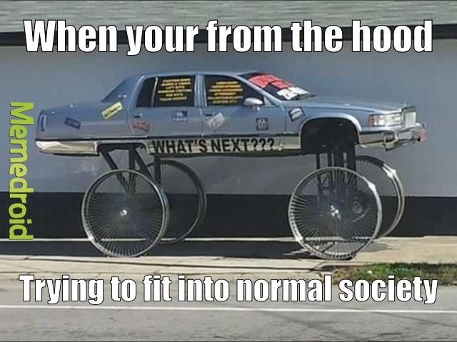 hood car - meme